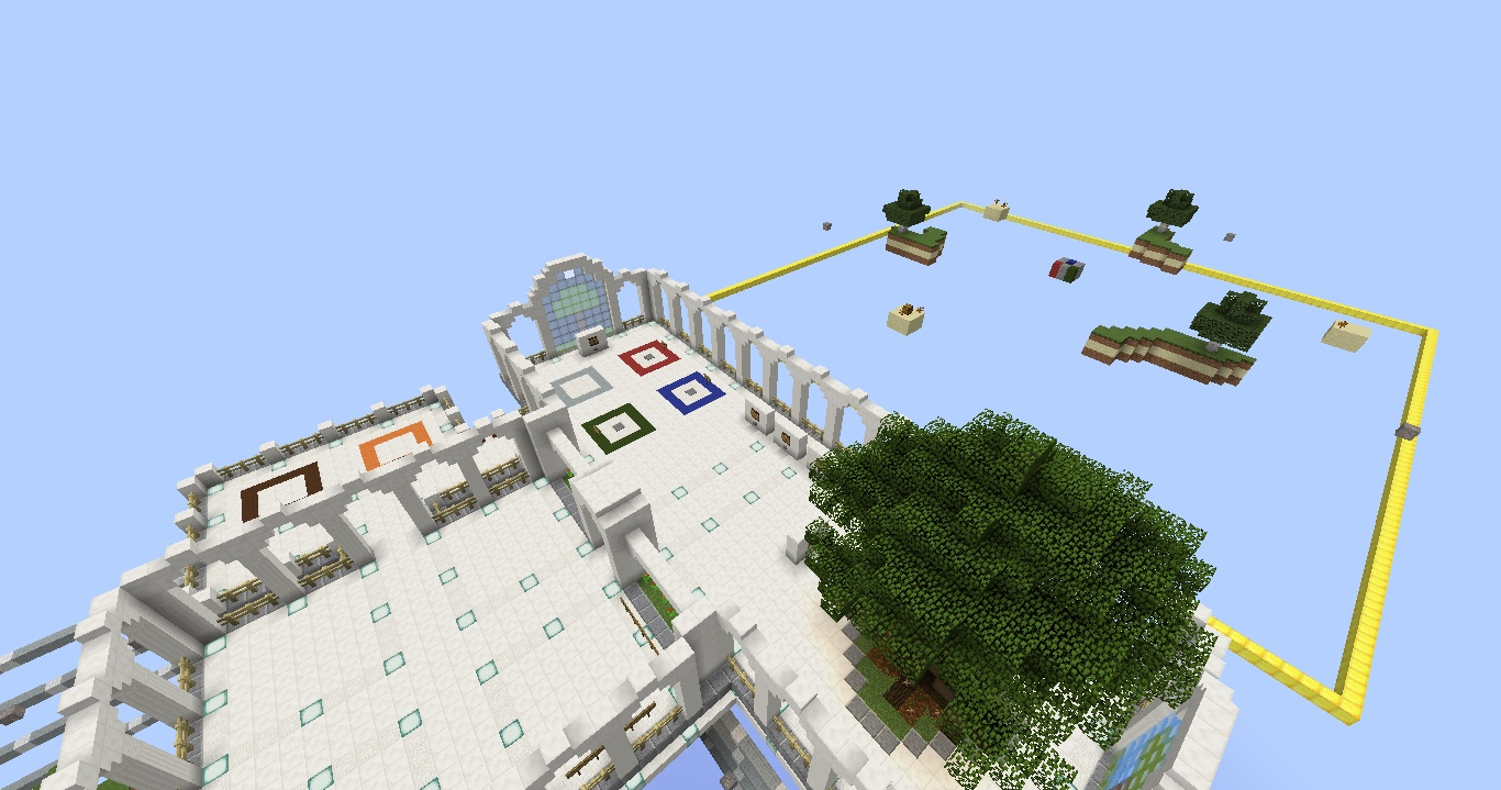 PVP skyblock map has been updated